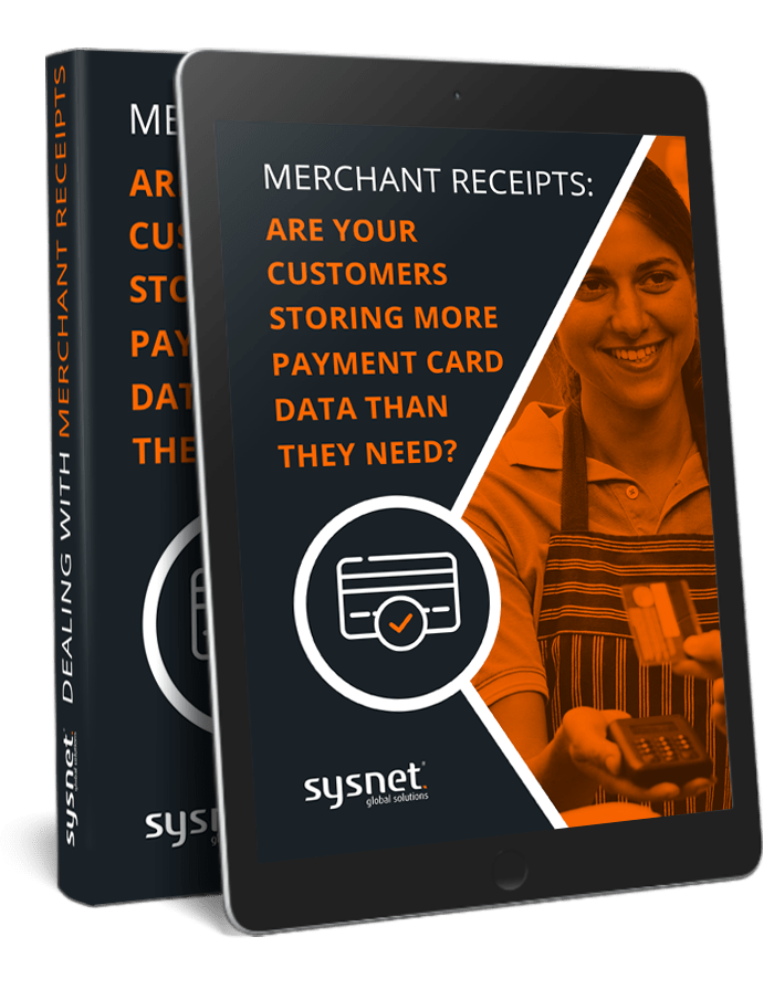 Merchant Receipts: Are your customers storing more payment card data than they need | Free eBook