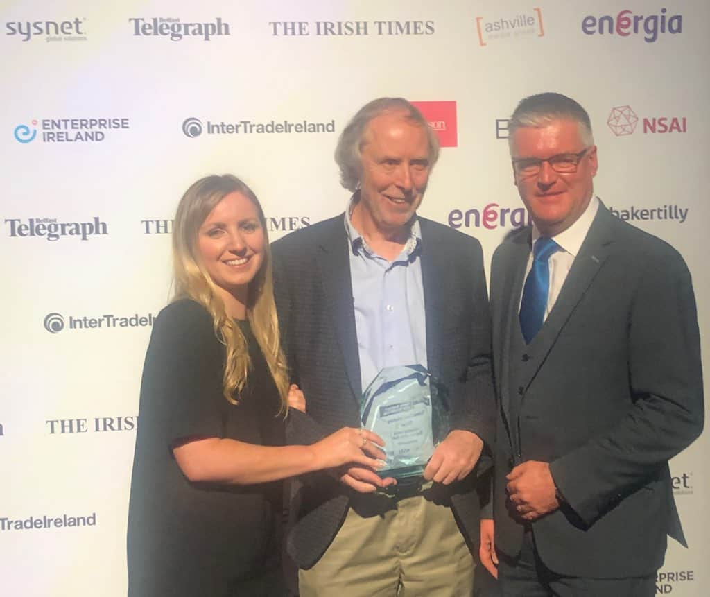 Sysnet Global Solutions Scoops Energia's Innovative Family Business Award